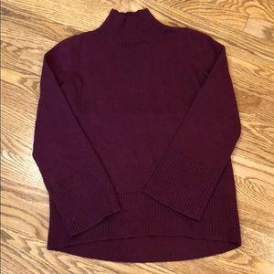 LOFT Mock-neck Sweater